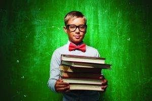 bow tie book kid background